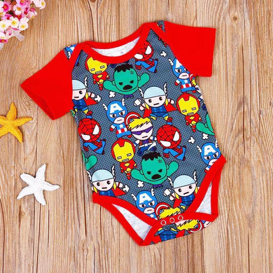 Super Hero Newborn Baby Onesie