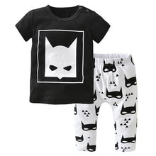 Unisex Cotton Short-Sleeved Batman 2pcs Set