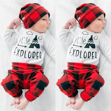 Little Explorer Baby Boys/Girls 4PCS Outfit
