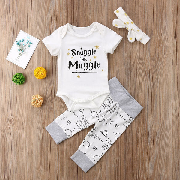 Snuggle This Muggle 3 Pcs Set