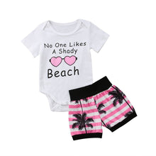 No Shady Beaches 2 Pcs Set