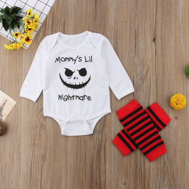 Mommy's Lil Nightmare 2pc set