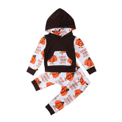 Gobble Hooded Set