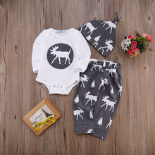 Cute Newborn Baby Girl/Boy Clothes Set