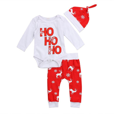 HO HO HO 3 Pcs Set