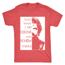 I drink I know T-Shirt Mens Triblend