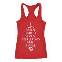 Rule Seven Kingdoms Racerback Tank