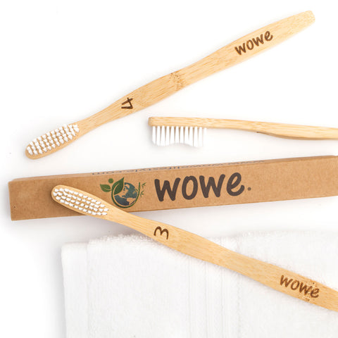 Eco-Friendly and Natural Bamboo Toothbrush for Adults | Biodegradable