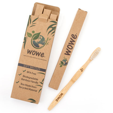 Image of bamboo toothbrush