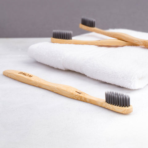 Image of bamboo charcoal toothbrush