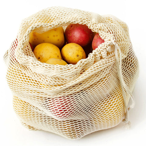 Image of organic cotton mesh bag