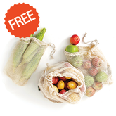 free cotton produce bags