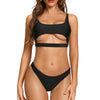 Huntington Scoop Neck Cut Out Bikini Sets