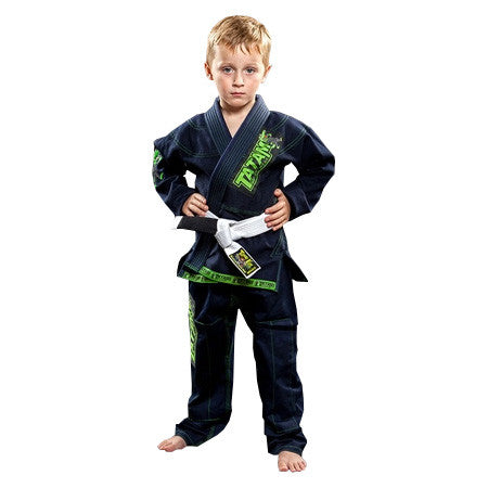 Tatami Animal Mini Kids Jiu Jitsu Gi - Navy Blue