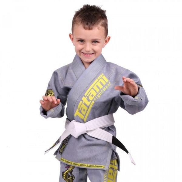 Meerkatsu Kids Animal Gi - Grey