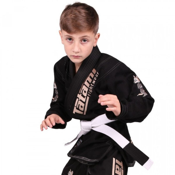 Meerkatsu Kids Animal Gi - Black