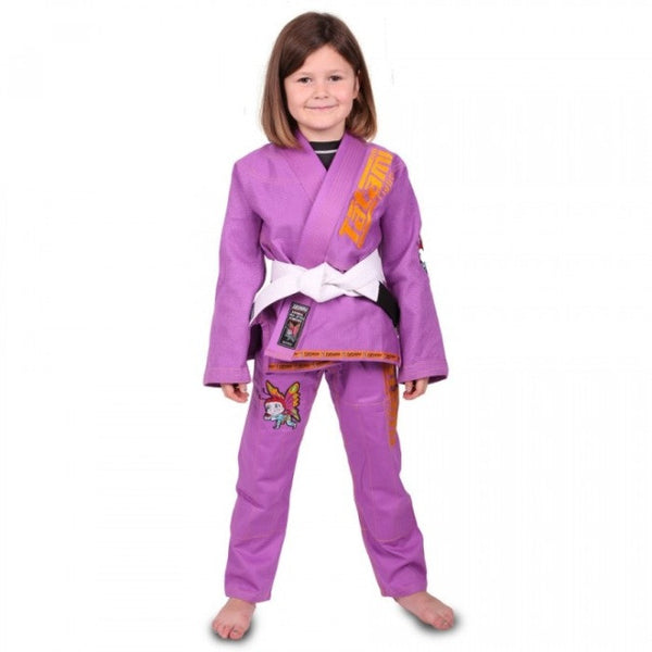Meerkatsu Kids Animal Gi - Purple