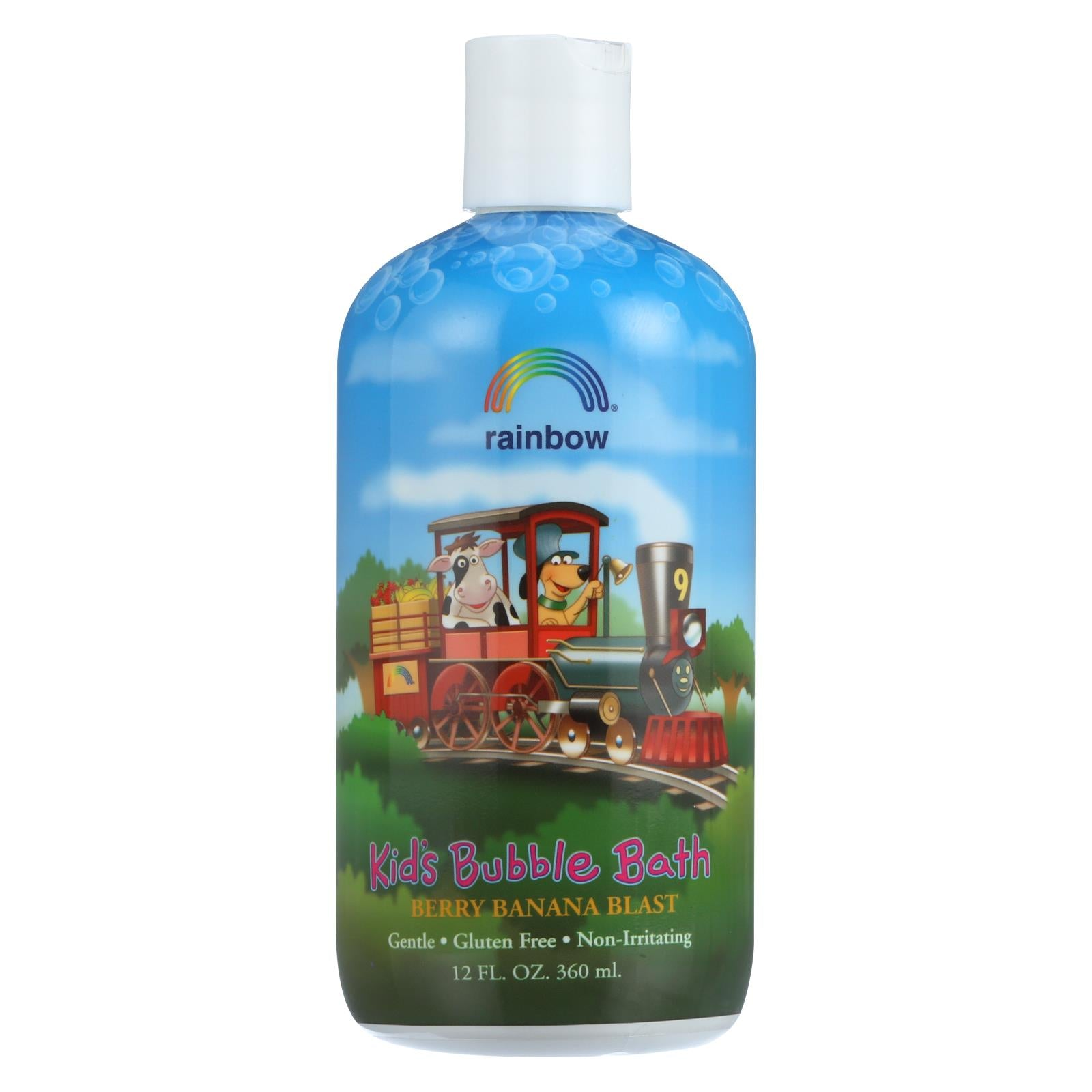 Buy Rainbow Research Organic Herbal Bubble Bath For Kids Berry Banana Blast - 12 fl oz - Baby Bath and Shampoo from Veroeco.com