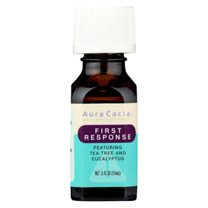 Buy Aura Cacia Essential Solutions Oil First Response - 0.5 fl oz - Aromatherapy from Veroeco.com
