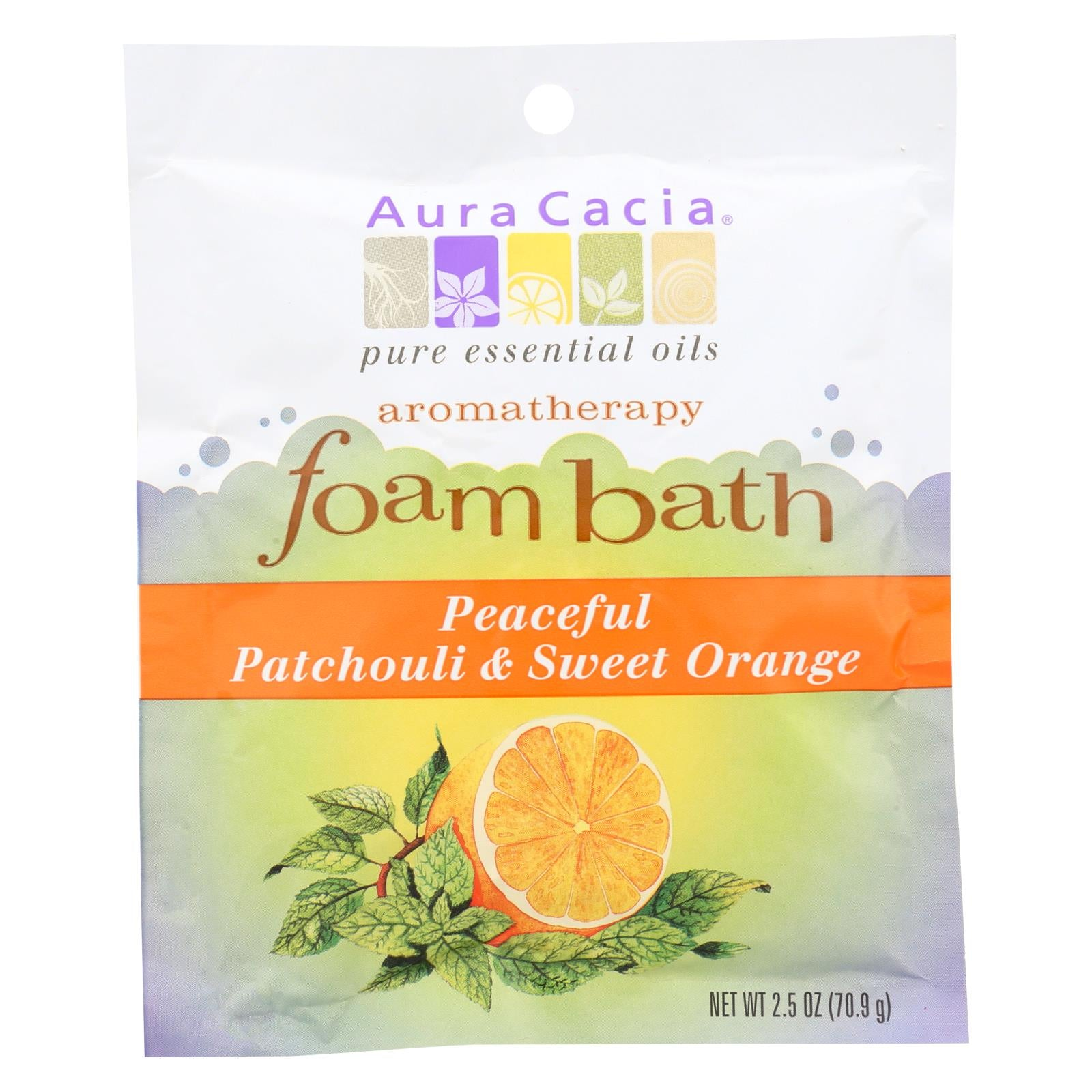 Buy Aura Cacia Foam Bath - Packet - Case of 1 - 2.5 oz. - Body Wash from Veroeco.com