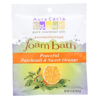 Aura Cacia Foam Bath - Packet - Case of 1 - 2.5 oz.