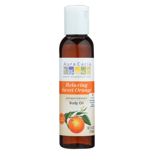 Buy Aura Cacia Aromatherapy Body Oil - Relaxation - Tangy Citrus Aroma - 4 fl oz - Aromatherapy from Veroeco.com