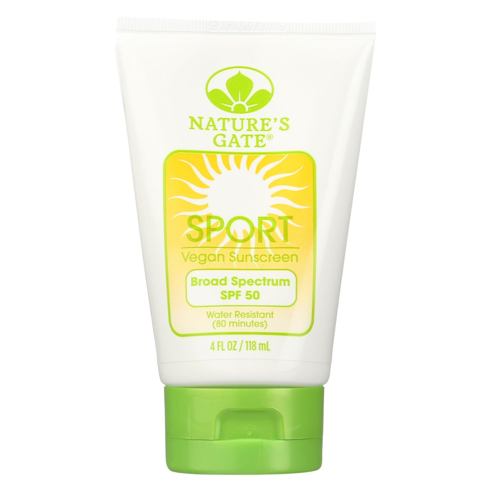 Buy Nature's Gate Sport Block Sunblock Fragrance-Free SPF 50 - 4 fl oz - Sun Care from Veroeco.com
