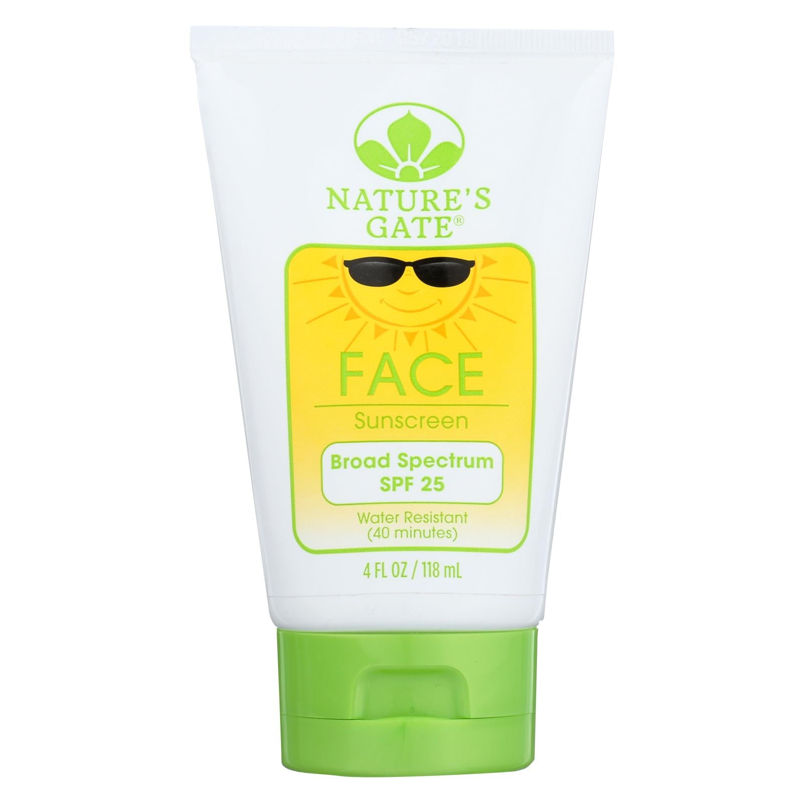 Buy Nature's Gate Faceblock Sunscreen - Fragrance Free Broad Spectrum SPF 25 - 4 fl oz - Sun Care from Veroeco.com