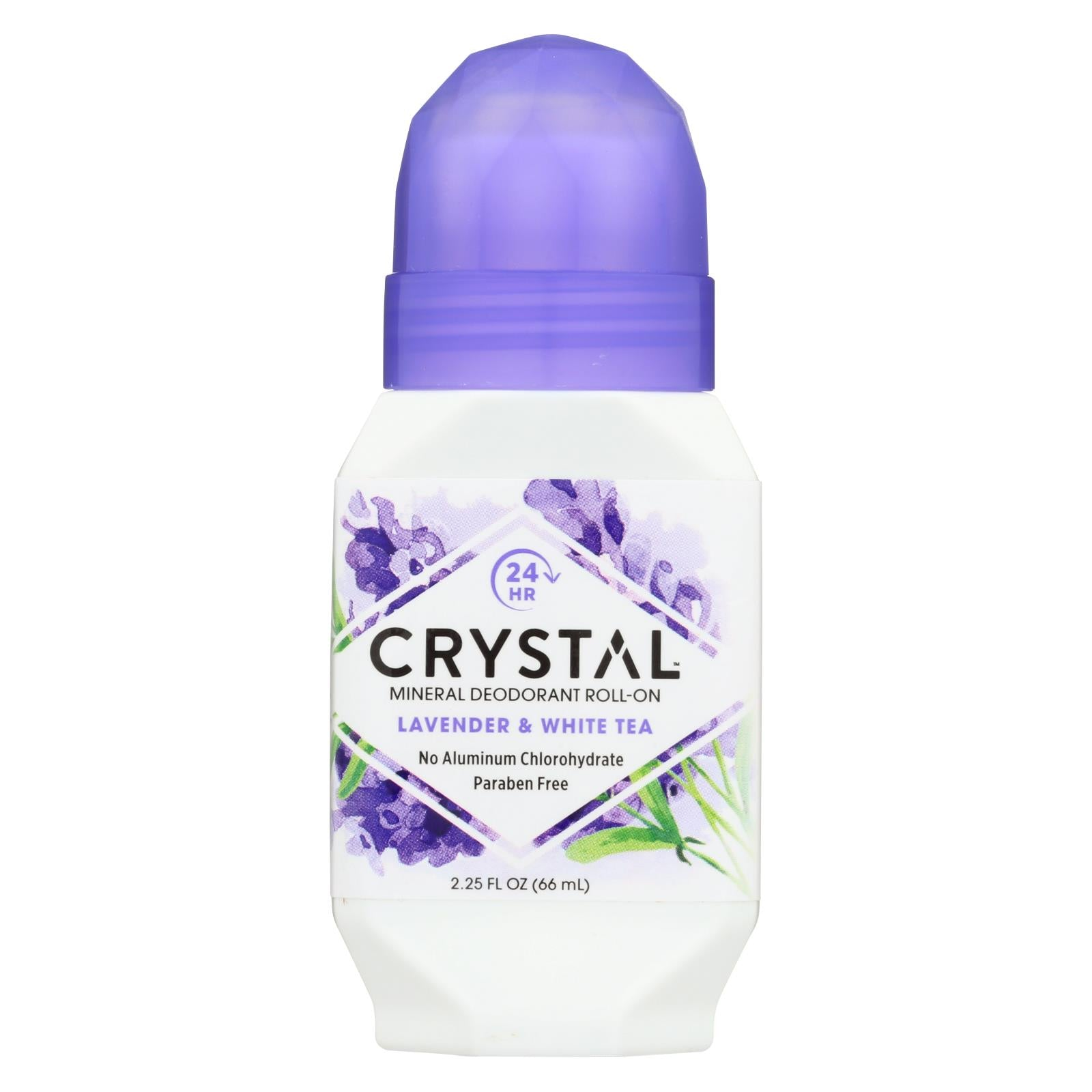 Buy Crystal Essence Roll On Deodorant Lavender and White Tea - 2.25 fl oz - Deodorants from Veroeco.com