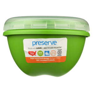 Buy Preserve Large Food Storage Container Green - 25.5 oz - Reusable Containers from Veroeco.com