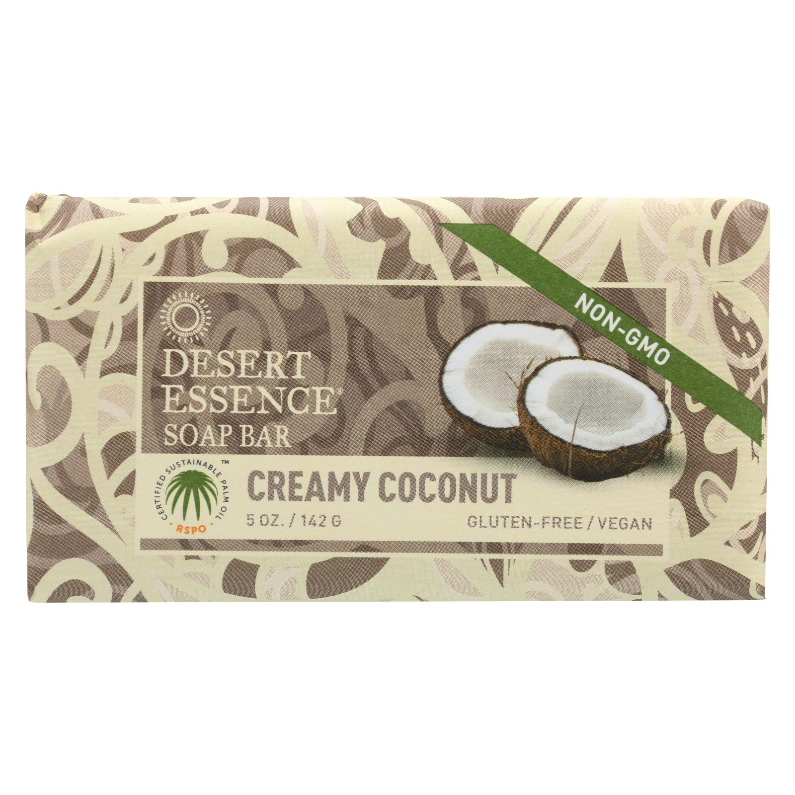 Buy Desert Essence Bar Soap - Creamy Coconut - 5 oz - Bar Soap from Veroeco.com