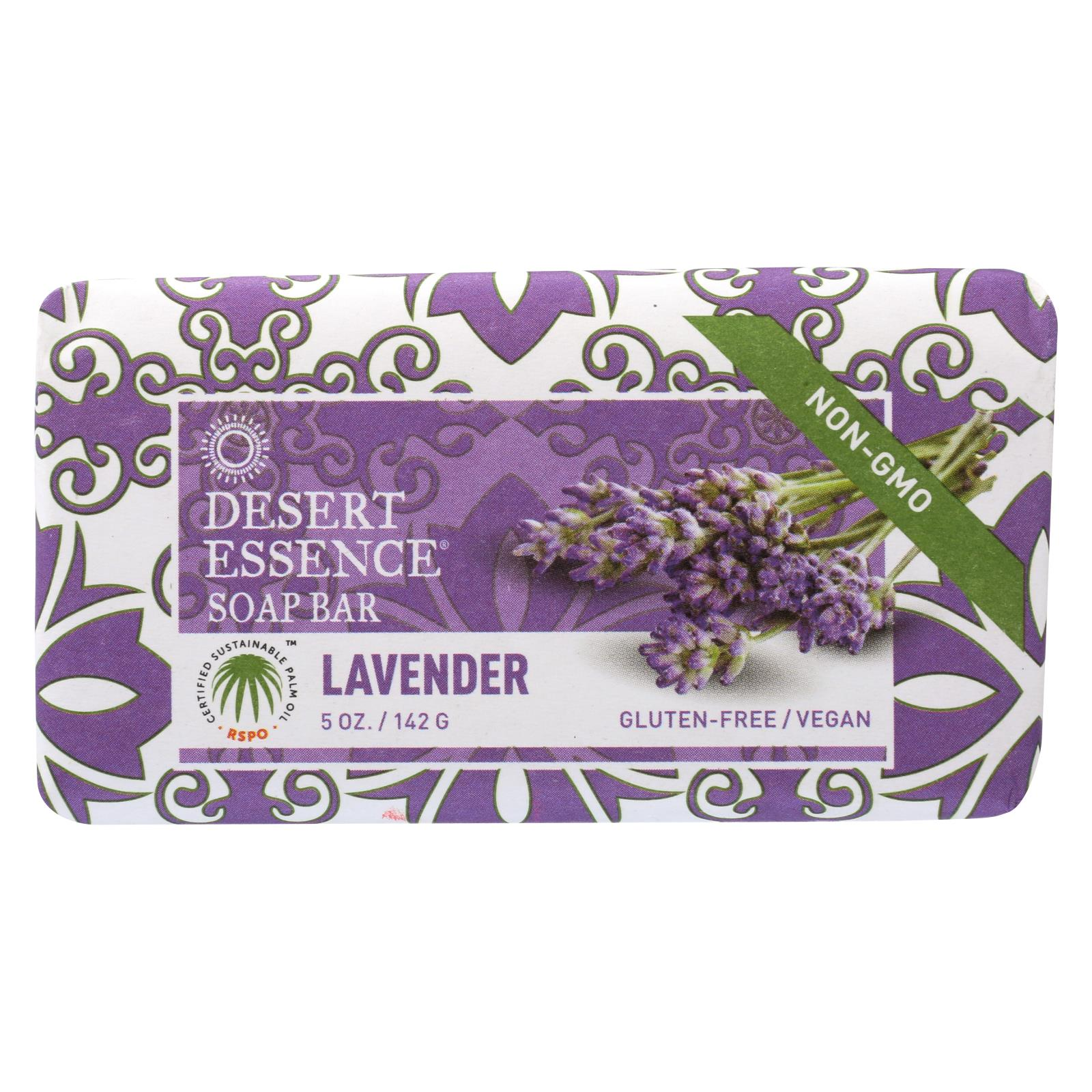 Buy Desert Essence Bar Soap - Lavender - 5 oz - Bar Soap from Veroeco.com