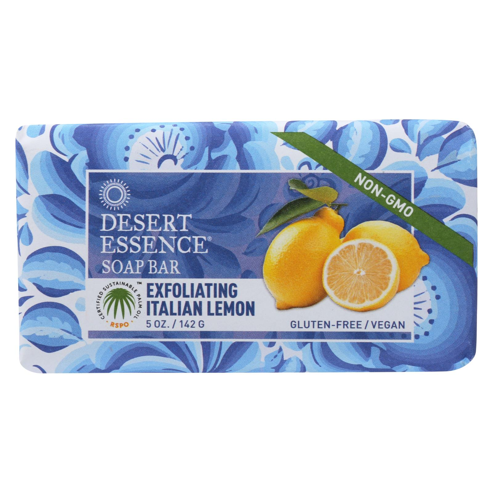 Buy Desert Essence Bar Soap - Exfoliating Italian Lemon - 5 oz - Bar Soap from Veroeco.com