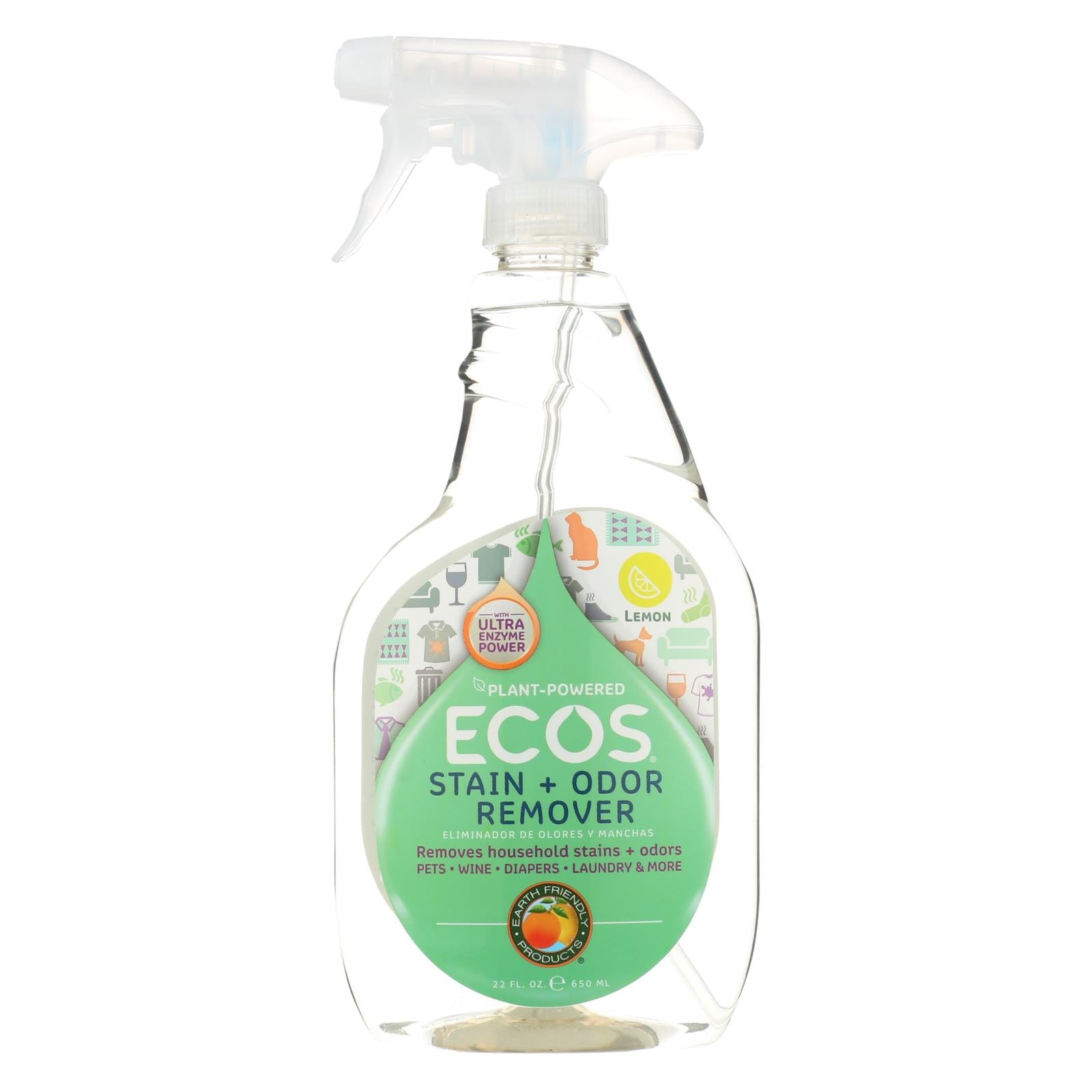 Buy Earth Friendly Stain and Odor Remover Spray - 22 fl oz - Household Cleaners from Veroeco.com