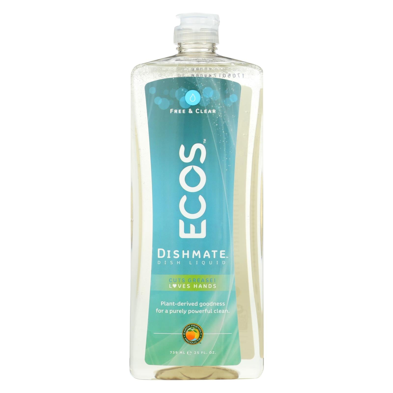 Buy Earth Friendly Dishmate - Free and Clear - 25 fl oz - Dishwashing from Veroeco.com