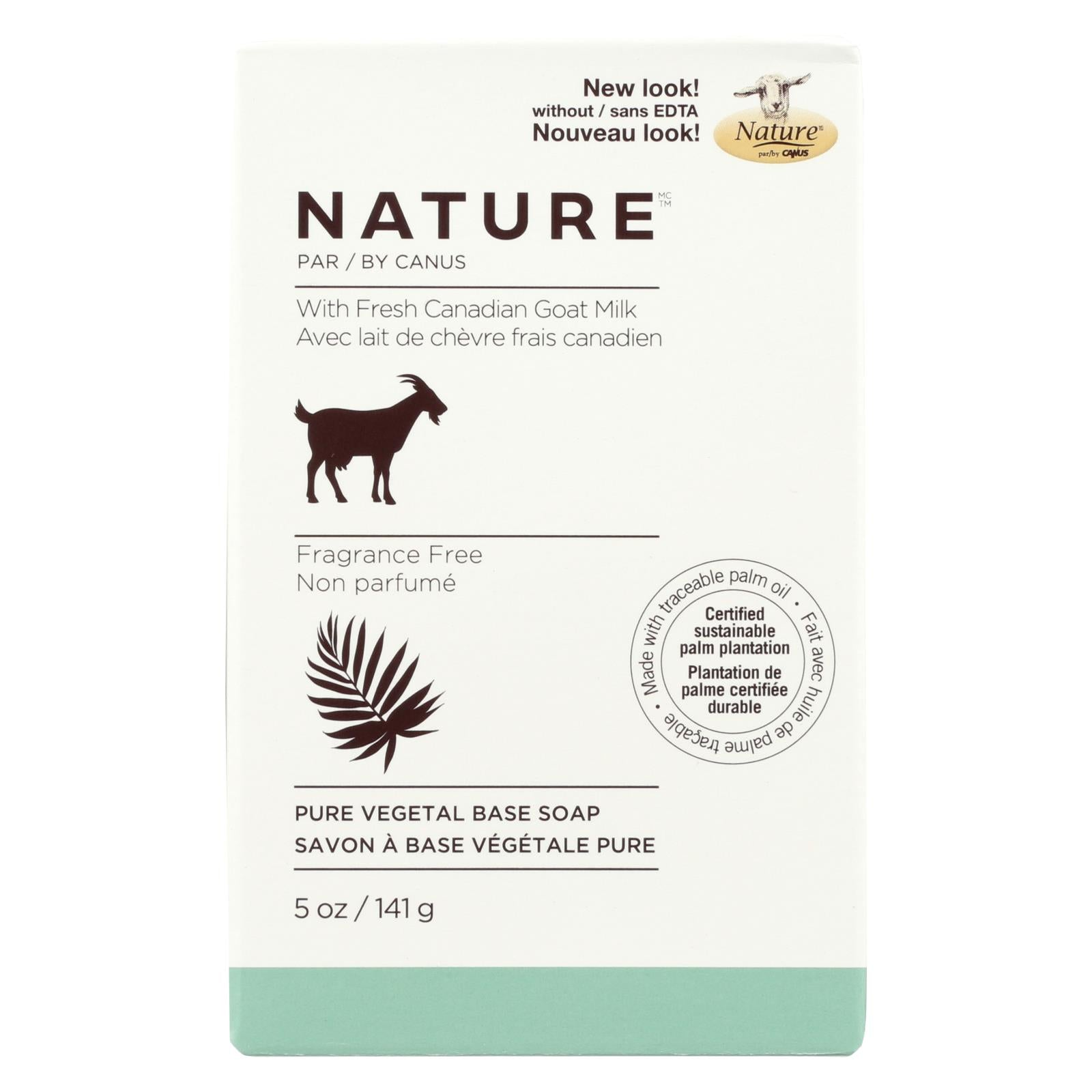 Buy Canus Goats Milk Bar Soap - Fragrance Free - 5 oz - Bar Soap from Veroeco.com