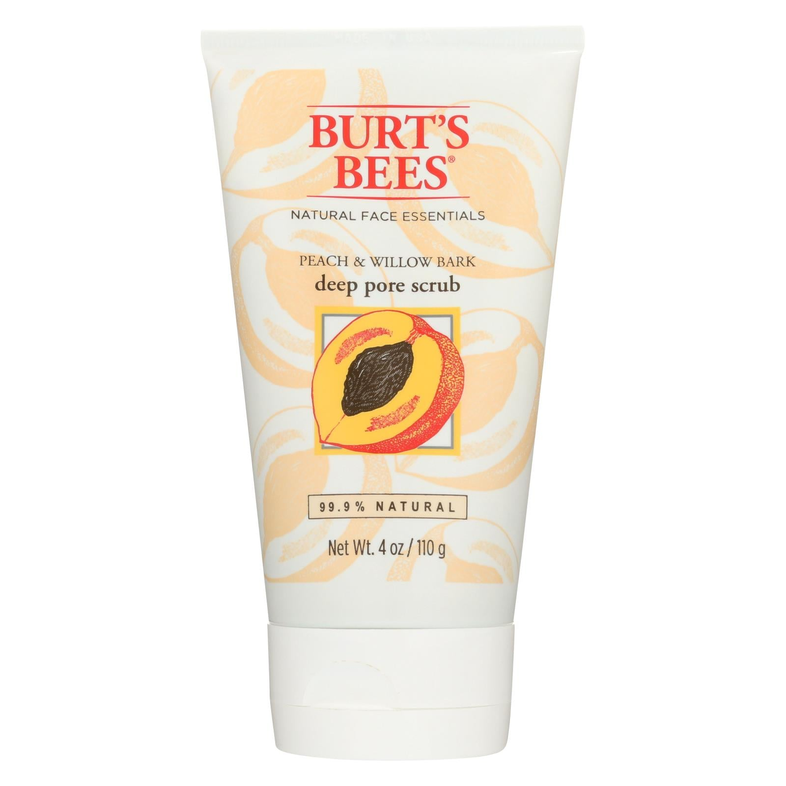 Buy Burts Bees Scrub - Pore - Peach & Willow Bark - 4 oz - Cleansers from Veroeco.com