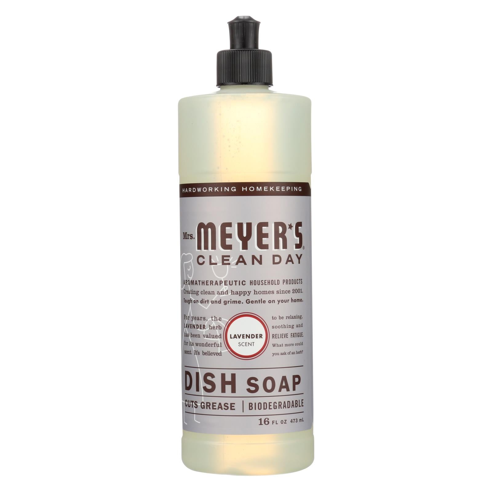 Buy Mrs. Meyer's Clean Day - Liquid Dish Soap - Lavender - 16 oz - Dishwashing from Veroeco.com