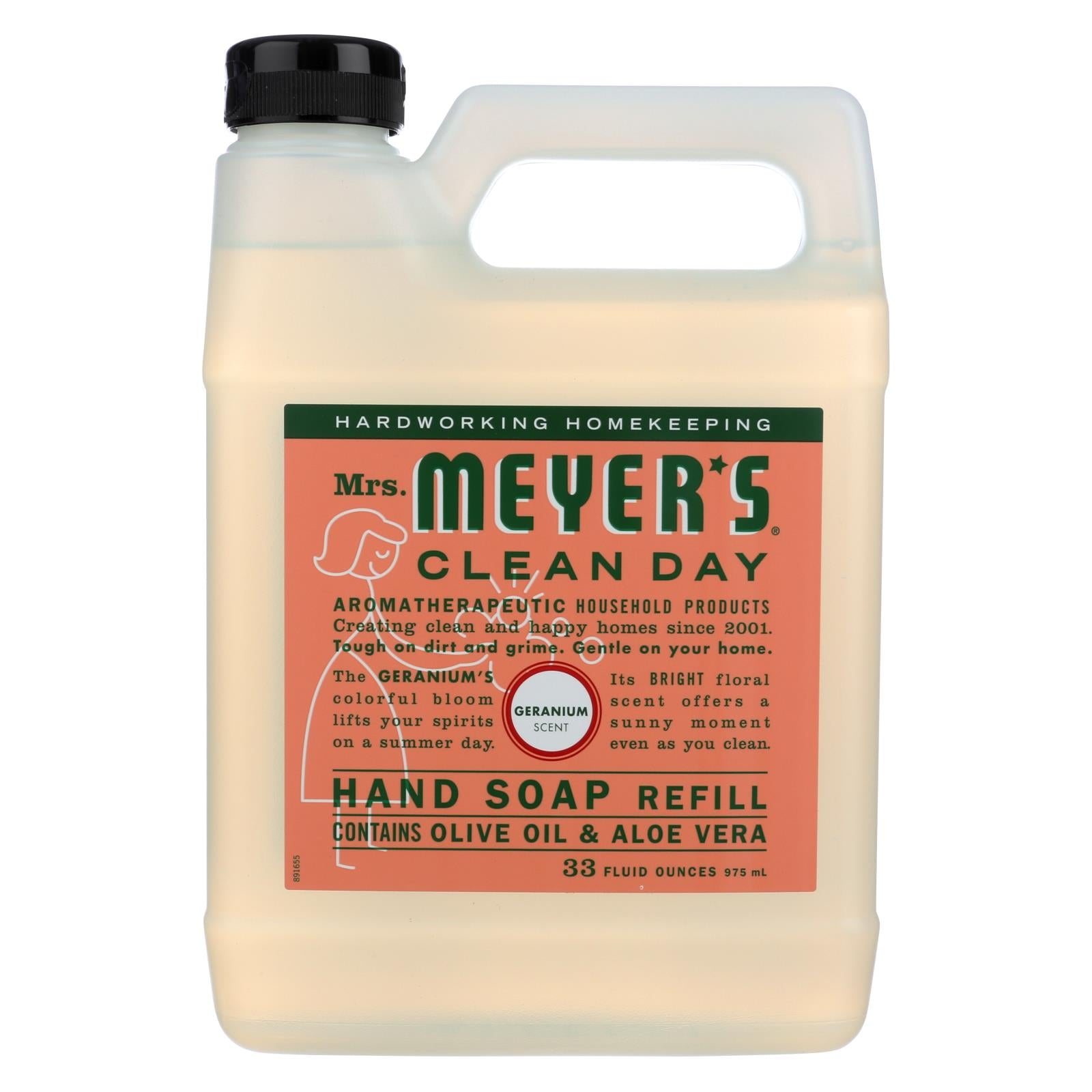 Buy Mrs. Meyer's Clean Day - Liquid Hand Soap Refill - Geranium - 33 fl oz - Liquid Hand Soap from Veroeco.com