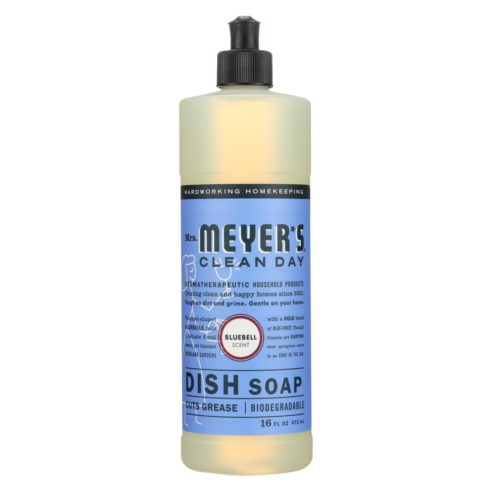 Buy Mrs. Meyer's Clean Day - Liquid Dish Soap - Bluebell - 16 oz - Dishwashing from Veroeco.com