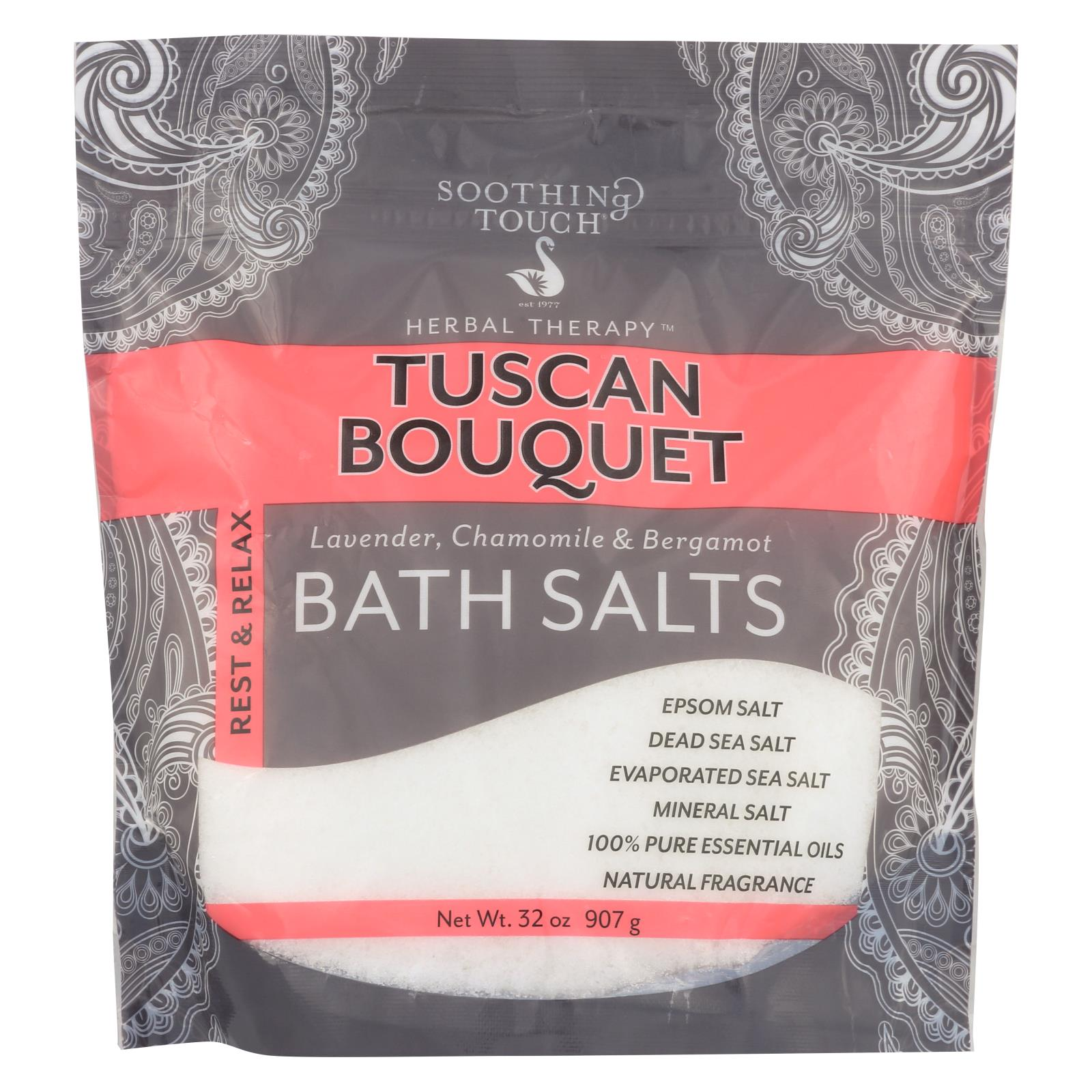 Buy Soothing Touch Bath Salts - Rest & Relax Tuscan Bouquet - 32 oz - Bubble Bath and Soaks from Veroeco.com