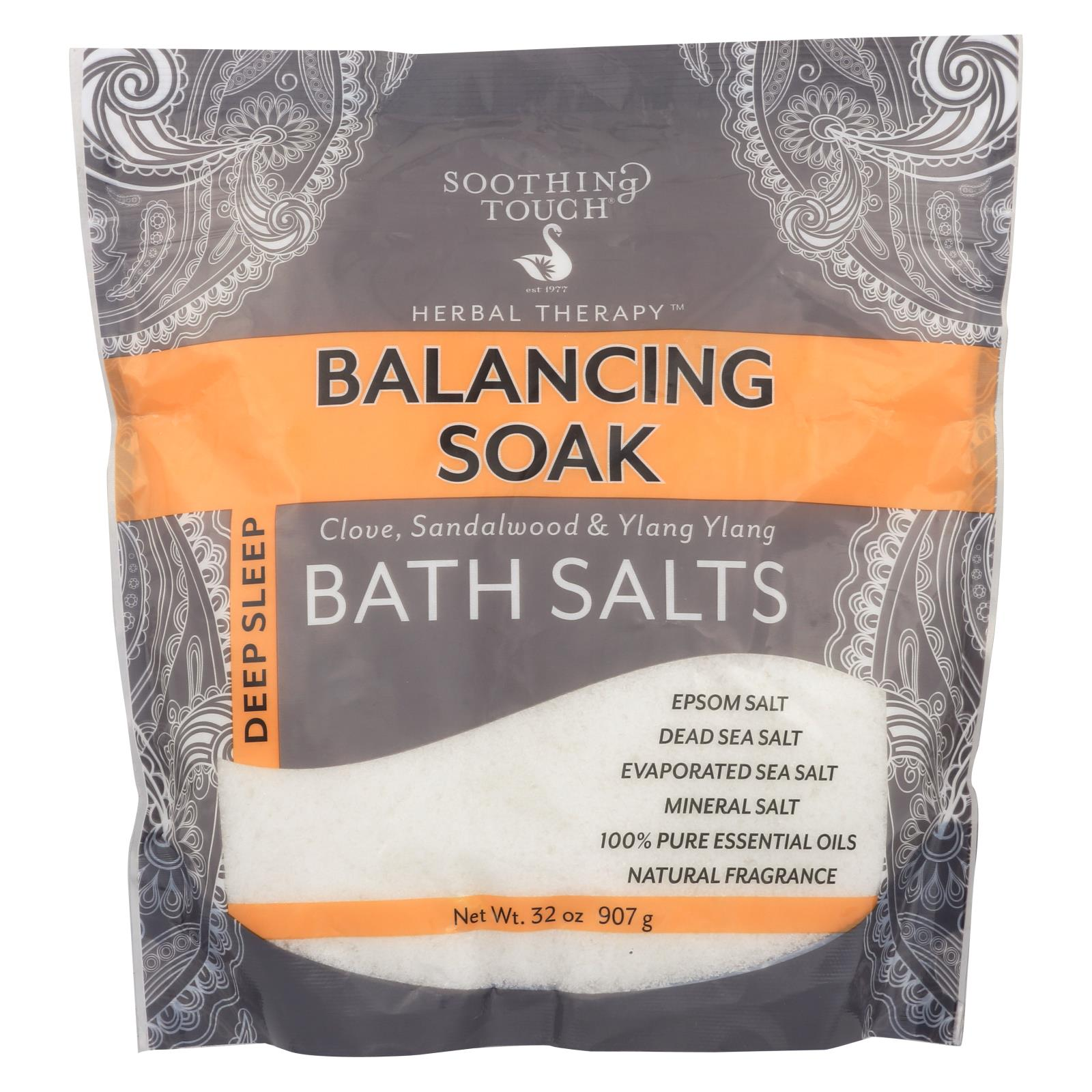 Buy Soothing Touch Bath Salts - Balancing Soak - 32 oz - Bubble Bath and Soaks from Veroeco.com