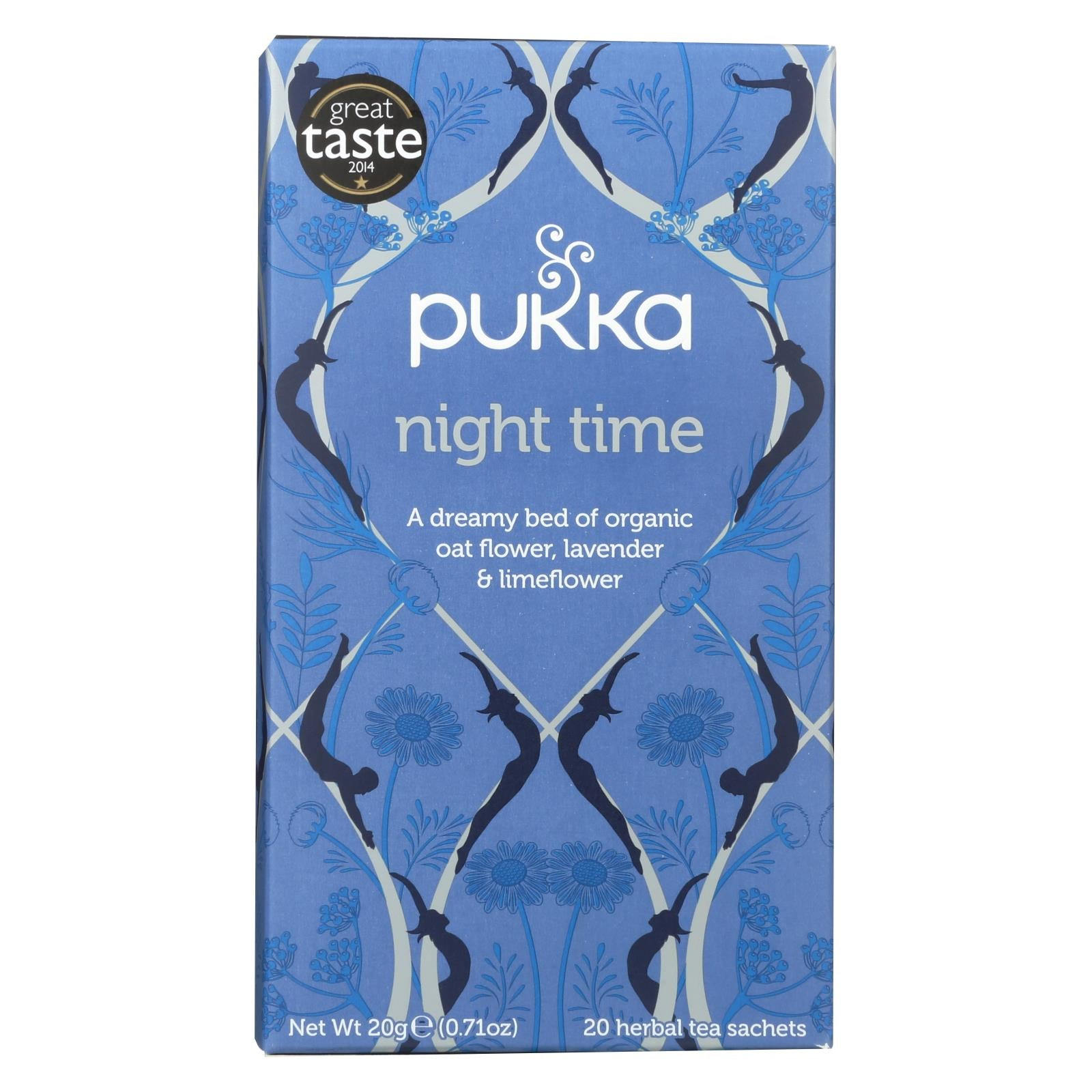 Buy Pukka Herbal Teas Tea - Organic - Night Time - 20 Bags - Case of 6 - Wellness Tea from Veroeco.com