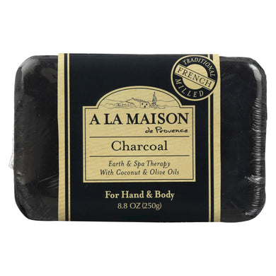 A La Maison Bar Soap - Charcoal - 8.8 Oz
