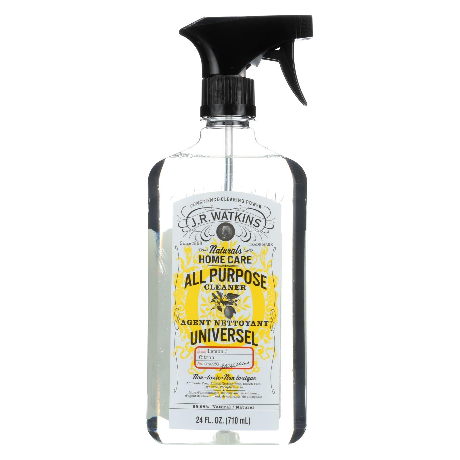 Buy J.R. Watkins Natural All Purpose Cleaner Lemon - 24 fl oz - Household Cleaners from Veroeco.com