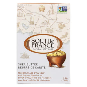 Buy South Of France Bar Soap - Shea Butter - 6 oz - 1 each - Bar Soap from Veroeco.com