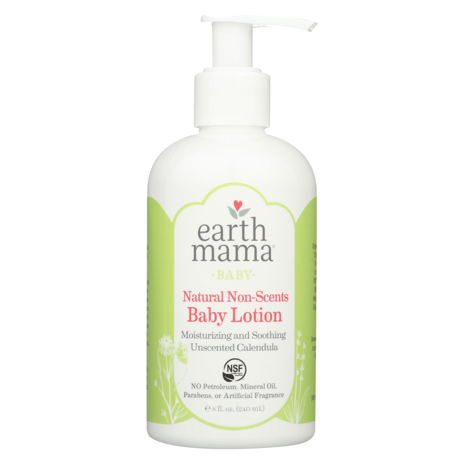 Buy Earth Mama Angel Baby Lotion - Natural Non-Scents - Fragrance Free - 8 oz - Baby Lotion and Oil from Veroeco.com