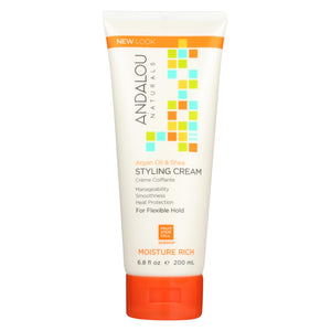 Buy Andalou Naturals Argan Oil and Shea Styling Cream - 6.8 fl oz - Styling Needs from Veroeco.com