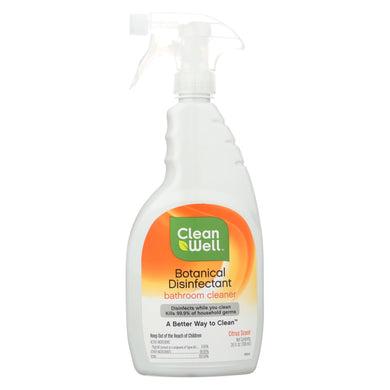 CleanWell Bathroom Disinfectant Cleaner - 26 fl oz