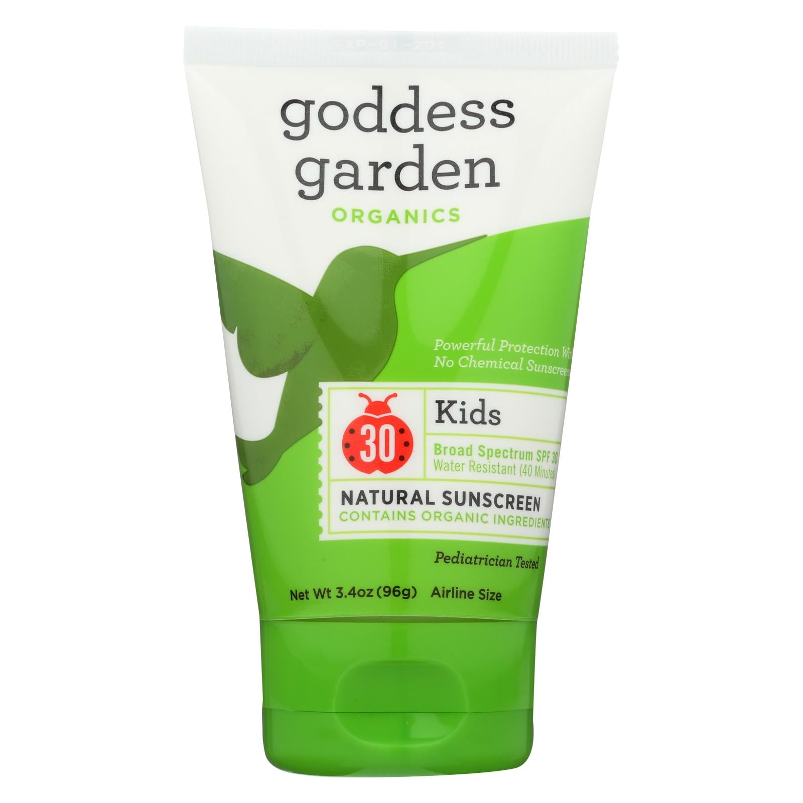 Buy Goddess Garden Sunscreen - Organic - Sunny Kids - SPF 30 - 3.4 fl oz - Baby Skin and Sun from Veroeco.com